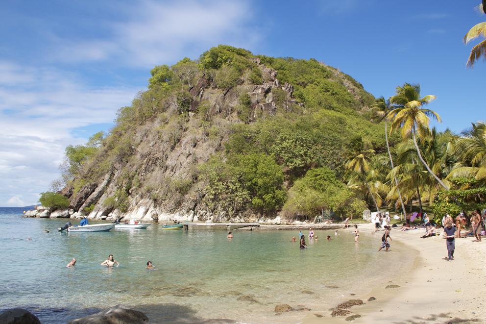 Spiaggia Pain du Sucre.