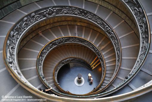 Scala a chiocciola Musei Vaticani