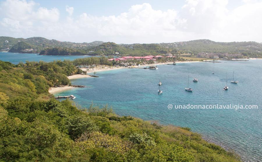 Pigeon Island, una dei più bei panorami di Saint Lucia