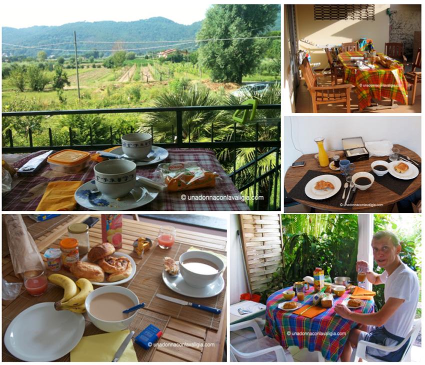 case vacanza colazione