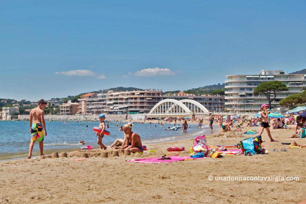 spiaggia sainte maxime costa azzurra