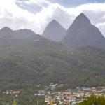 pitons santa lucia caraibi