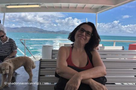 Sul traghetto Fantasea per Magnetic Island