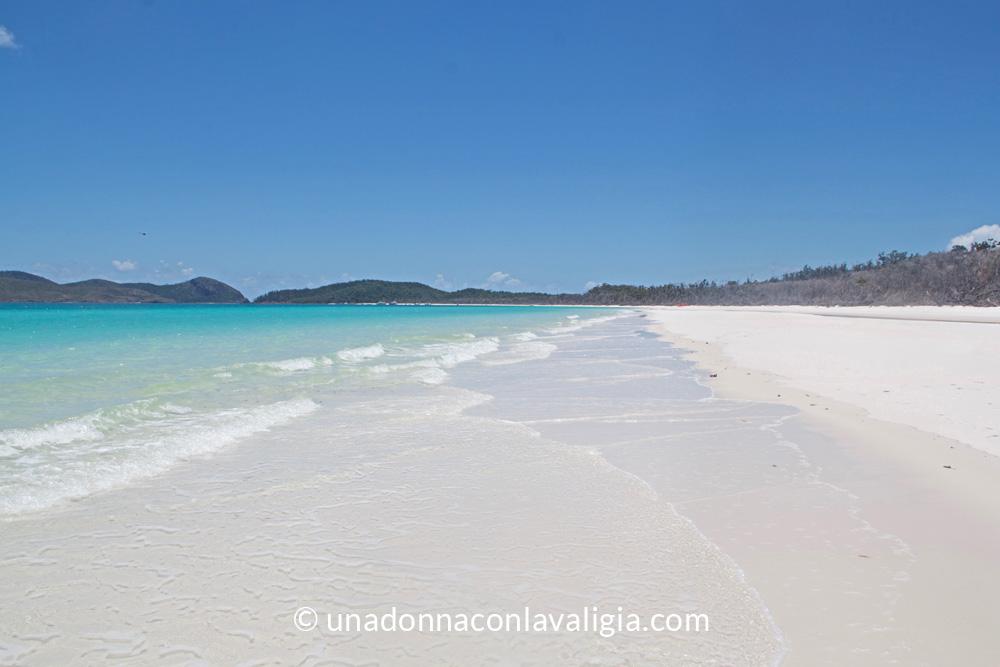 Whitehaven beach Whitsundays Australia