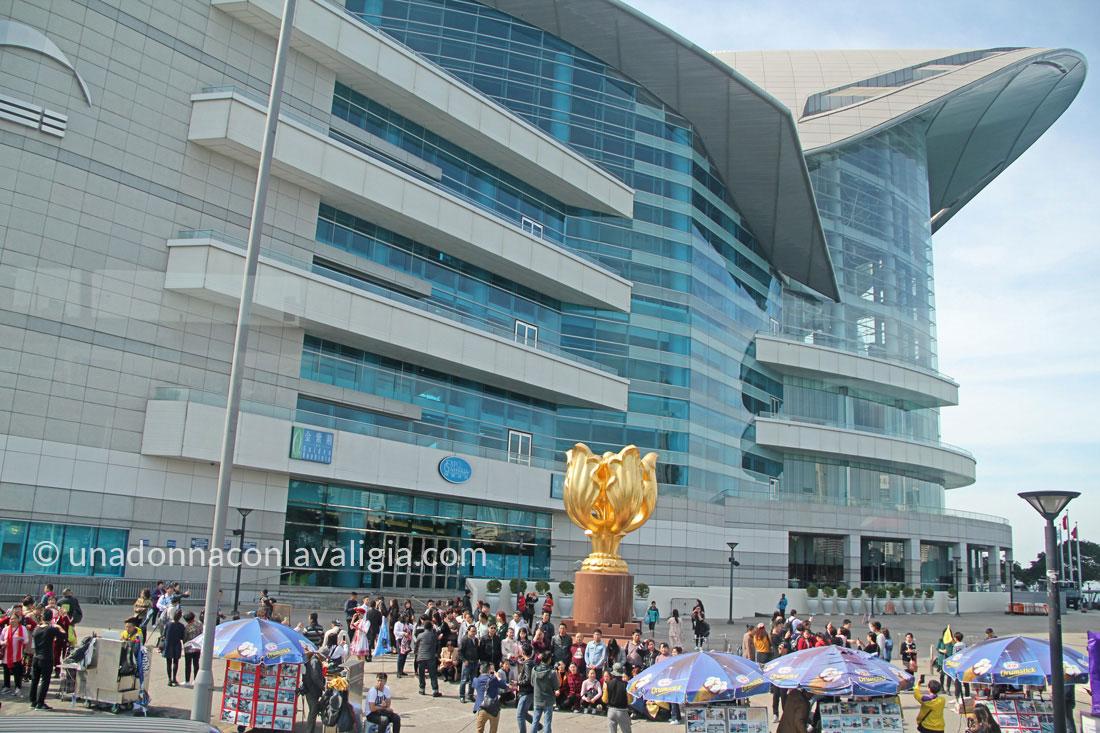 hong kong Golden Bauhinia Square