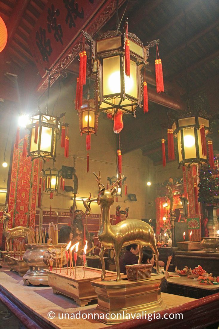 Man Mo tempio Hong Kong