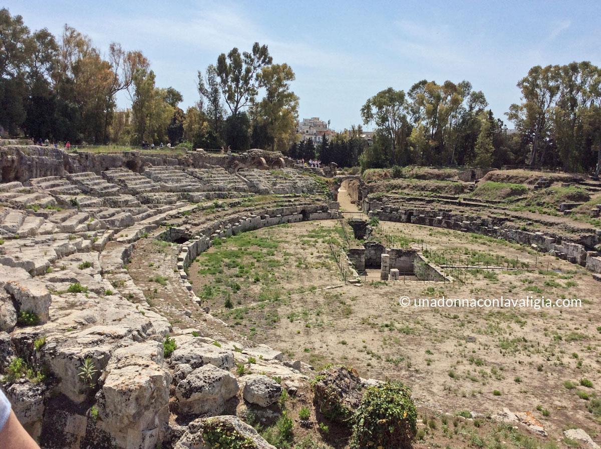 roman amphitheatre siracusa