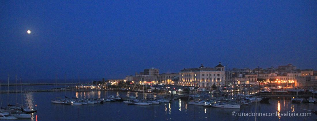 Ortigia Siracusa night landscape