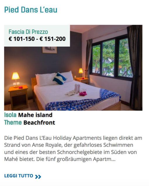 appartamenti mahe seychelles