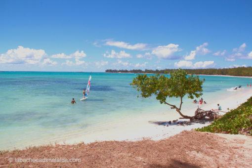 mon choisy beach mauritius