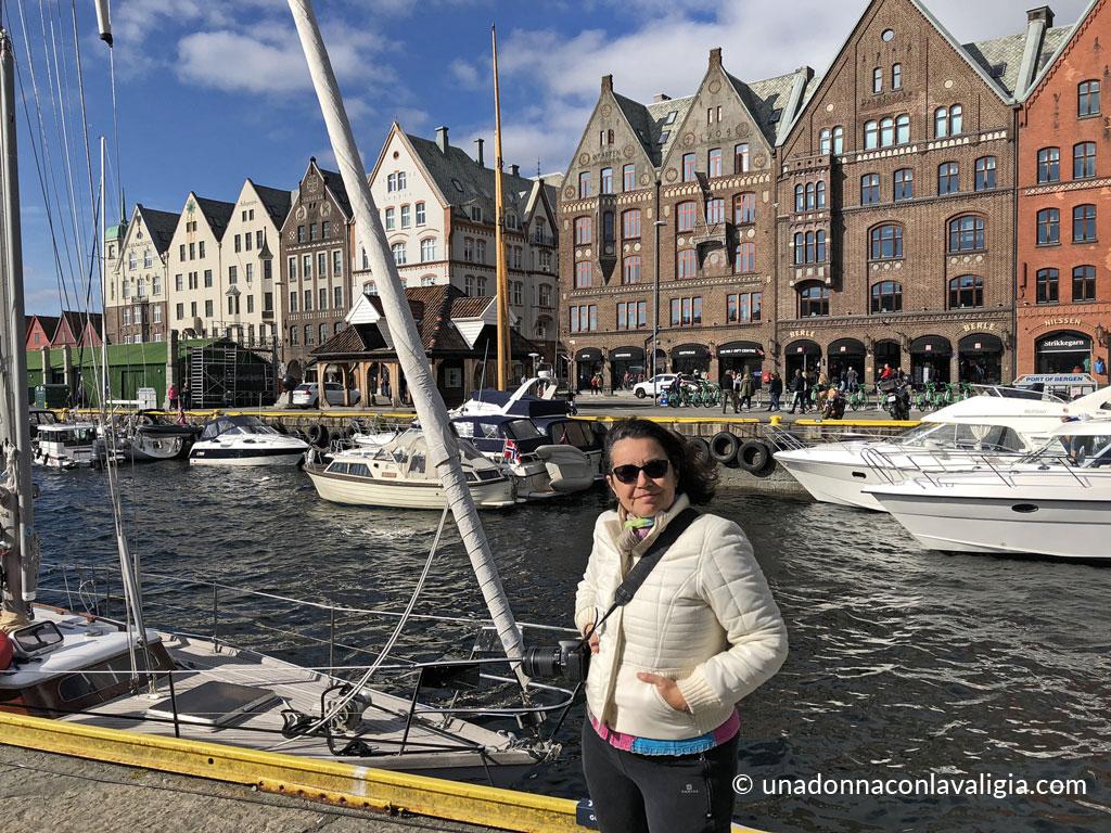 Bergen Norvegia porto