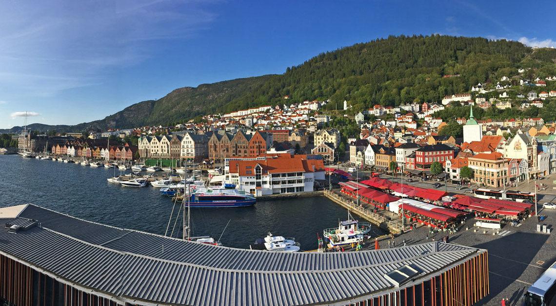 bergen norvegia panorama