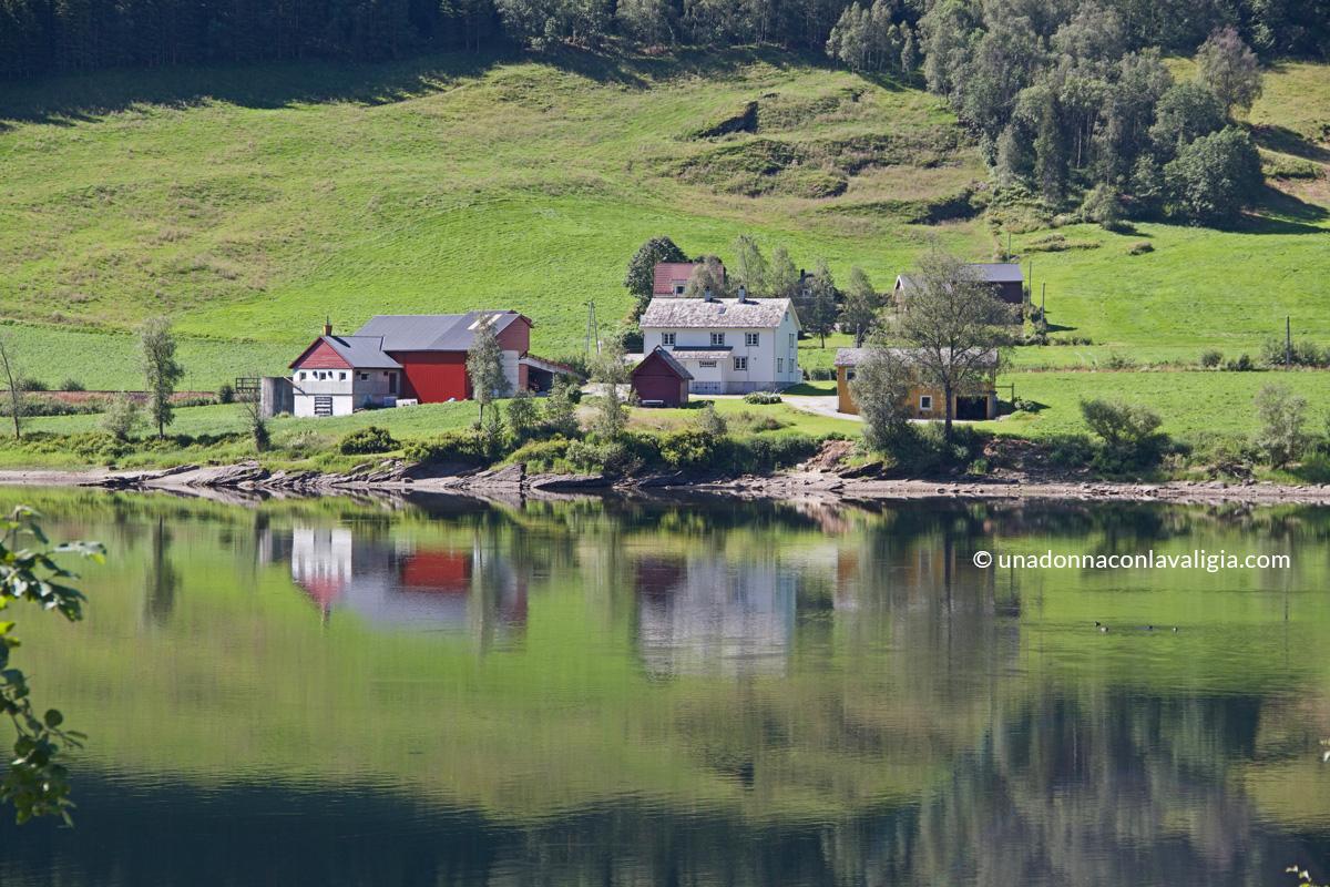 paesaggio voss norvegia