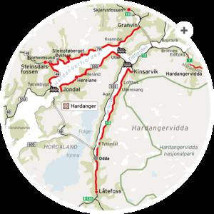 hardanger scenic route