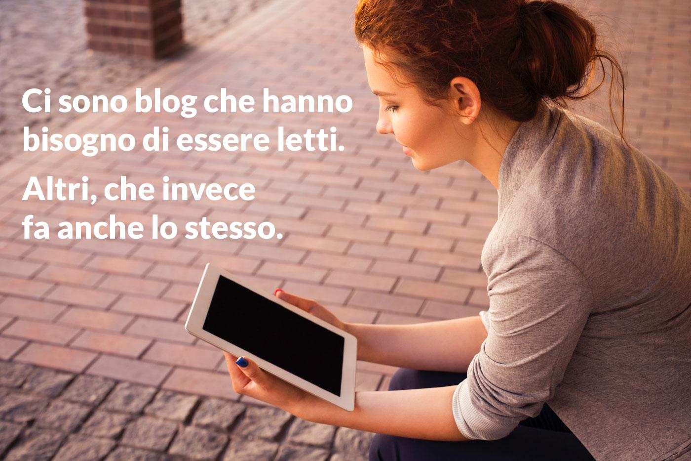 leggere un blog