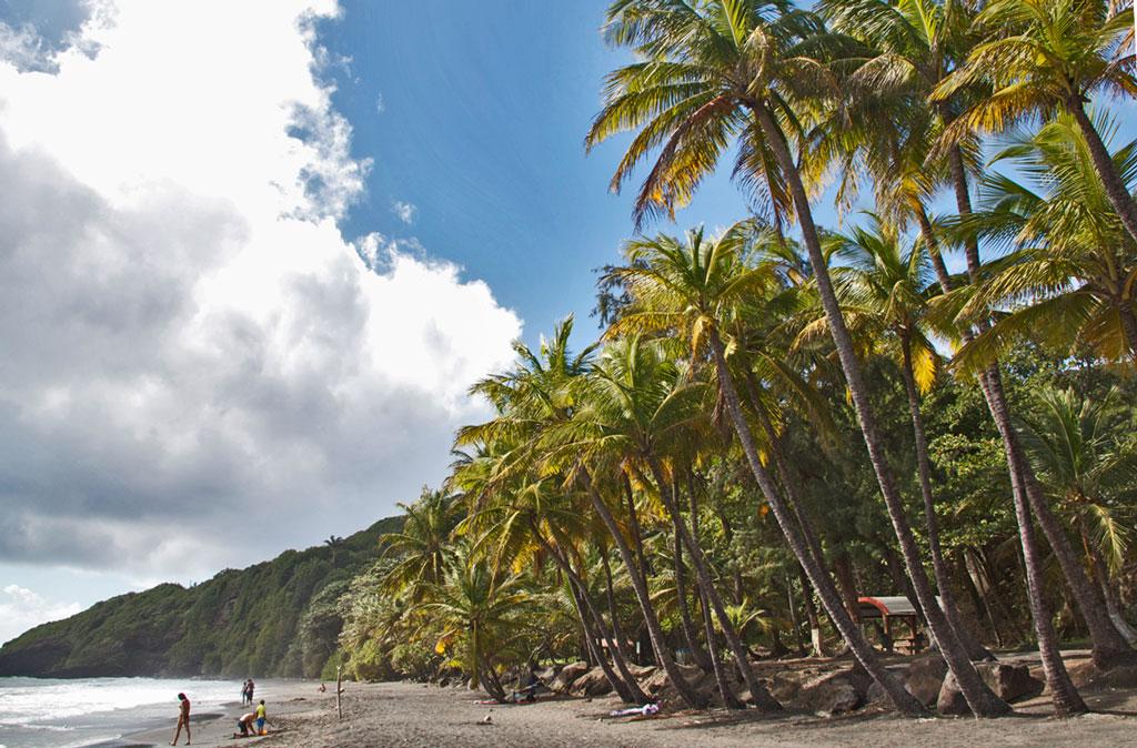 plage des trois rivieres guadalupa