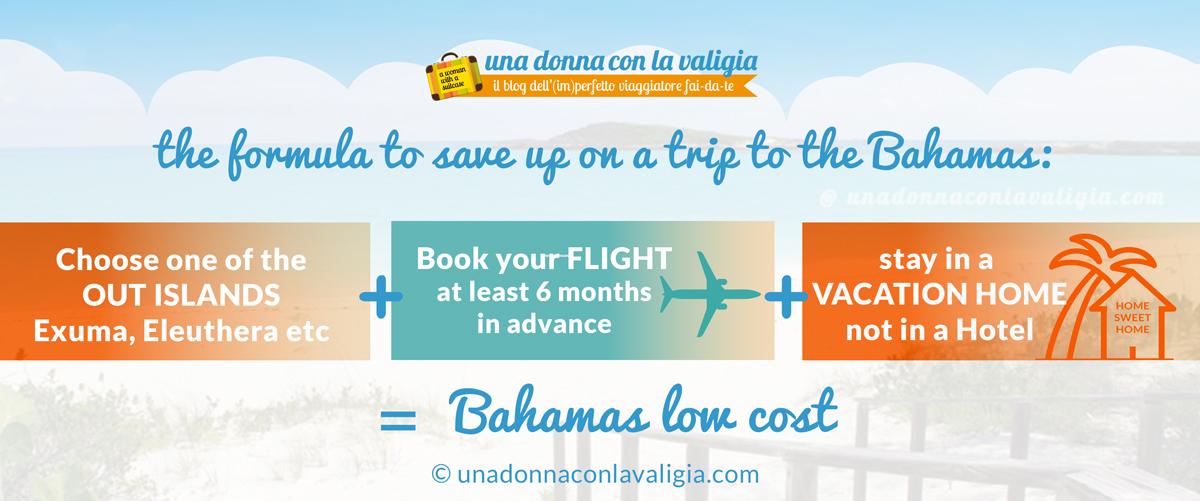 save money trip bahamas formula