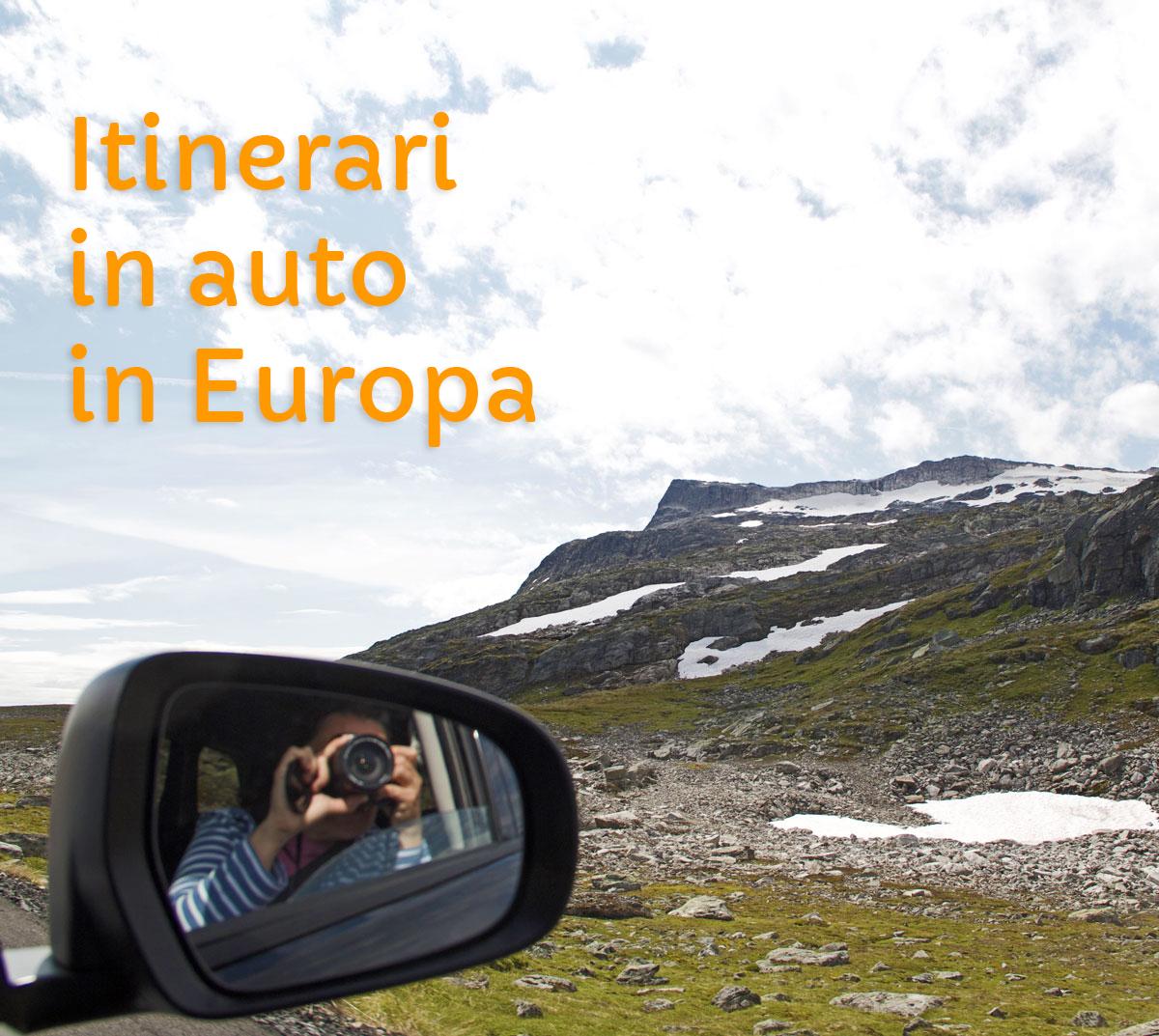 itinerari auto europa